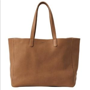 BAGGU Oversized Leather Tote | Perfect condition